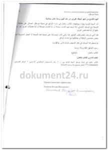 перевод диплоа для ливии