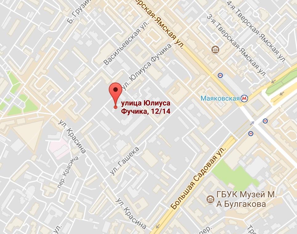 посольство чехии на карте