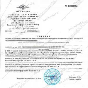 Certificato del casellario giudiziale