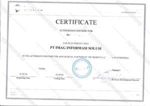 Сертификат Индонезия