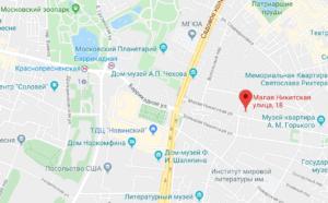 Посольство Лаоса в Москве карты