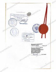 konsulskaya legalizatsiya affidavit posolstvo tanzaniya